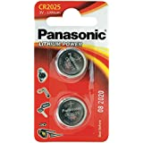 Panasonic Specialist Lithium Coin Batteries CR2025L x 2