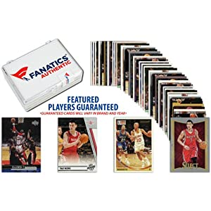 Houston Rockets Team Trading Card Block 50 Card Lot - Memories - Mounted Memories... by Sports Memorabilia