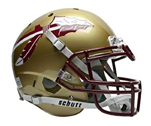 NCAA Florida State Seminoles Authentic XP Football Helmet by Schutt