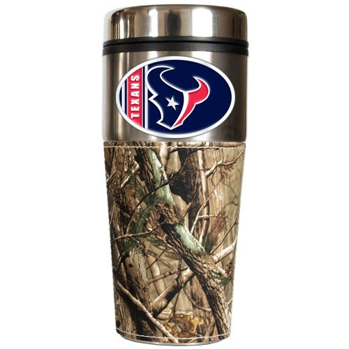 Nfl Houston Texans Open Field Travel Tumbler With Wrap front-604622