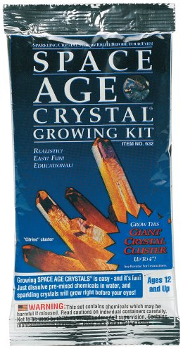 Space Age Crystals: Mylar Pack Citrine Grow Kit