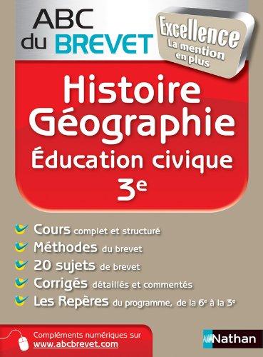 Abc excellence brevet hist/géo 3e