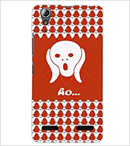 PrintDhaba Ghost Pattern D-5878 Back Case Cover for LENOVO A6000 (Multi-Coloured)