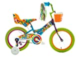Titan Girl's Flower Power Princess BMX Bike, Multi Color, 16-Inch