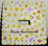 532 DISCO KUMIHIMO CUADRADO MANUALIDADES TRENZAS PLANAS BISUTERIA 12 X 12