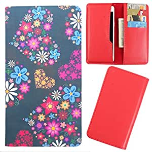 DooDa - For Gionee Ctrl V6L PU Leather Designer Fashionable Fancy Case Cover Pouch With Card & Cash Slots & Smooth Inner Velvet