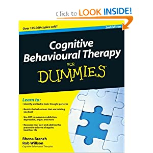 Cognitive Behavioural Therapy For Dummies book