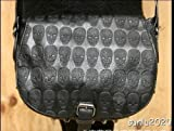 Happylife Skull Dazzling Crossbody Bag Purse Handbag Dress Misses Stripe Cross Body 0410