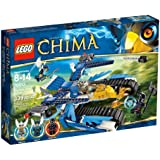 Lego Legends Of Chima - Playthèmes - 70013 - Jeu de Construction - L'ultra Striker d'equila