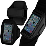Tigerbox® Premium Neoprene Sports Armband MP3 Player Holder For Apple iPod Touch 4 4th Generation - Black