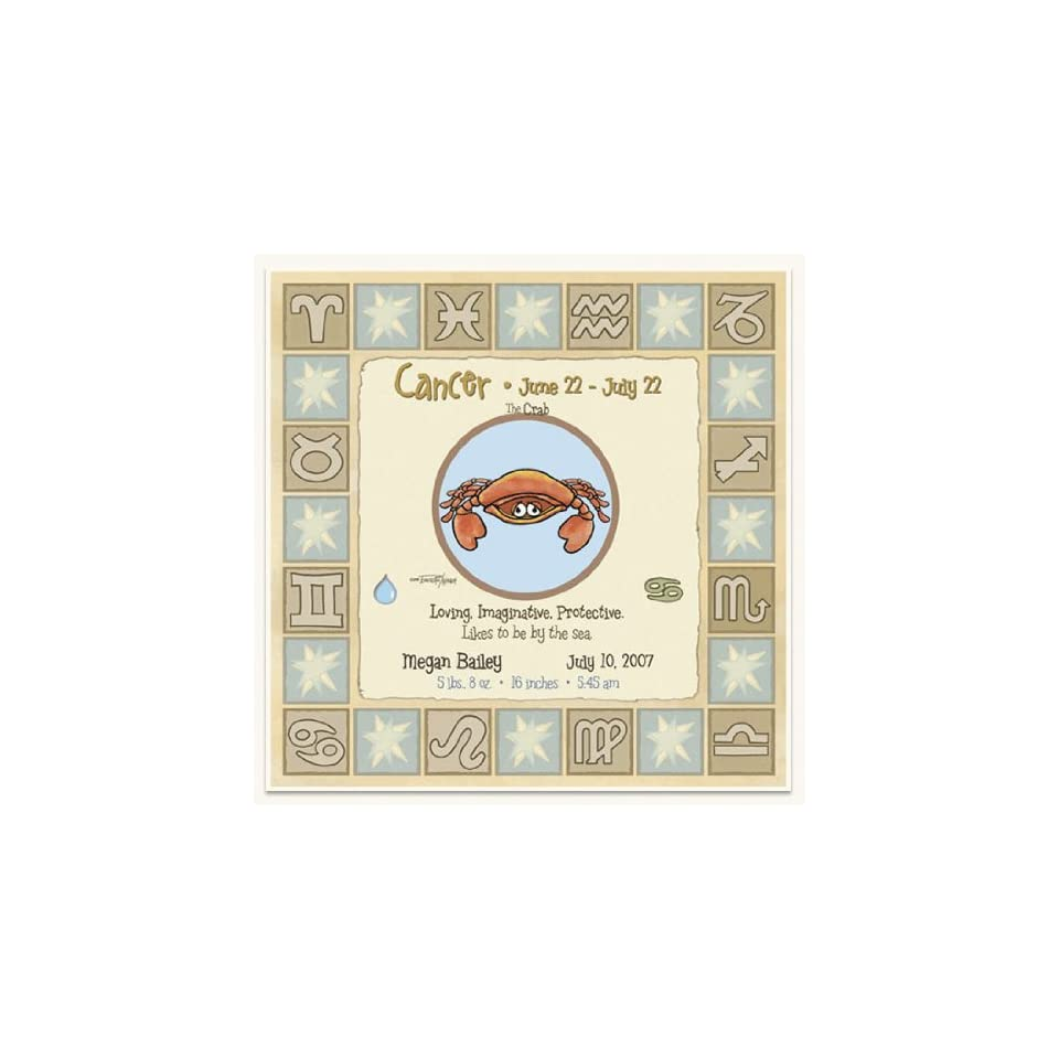 Zodiac Signs Birthday Gifts For Baby Cancer Sign