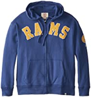 NFL St. Louis Rams Men's Striker Full Zip Jacket from Twins Enterprise/47 Brand