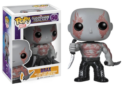 Funko POP Marvel: Guardians of The Galaxy - Drax Vinyl Bobble-Head Figure - 1