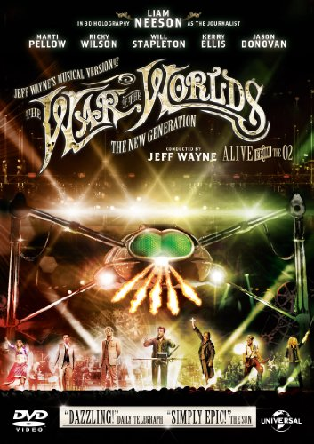 Jeff Wayne's Musical Version of The War of the Worlds - The New Generation: Alive On Stage [DVD] [2012]
