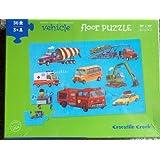 vehicle FLOOR PUZZLE 24 Pieces Puzzle by crocodile creek