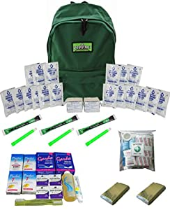 Emergency Kit for Two People by Zippmo Survival Gear
