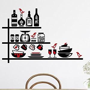 CasaNet Fantastico Adesivo Murales, Carta da Pareti  Utensili da Cucina 50x70cm !   recensioni