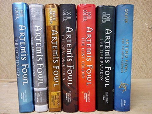 Artemis Fowl Complete Series Set Books 1-7 : Artemis Fowl / the Arctic Incident / the Eternity's Code / the Opal Deception / the Lost Colon