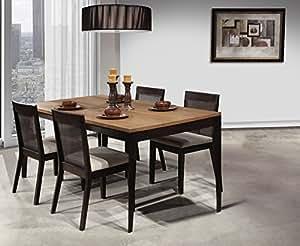 amazon com shermag emma 5 piece dining set
