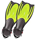 Typhoon T-Jet Kids Fin - Kids Size 1-4 - Yellow for Swimming and Water Sports