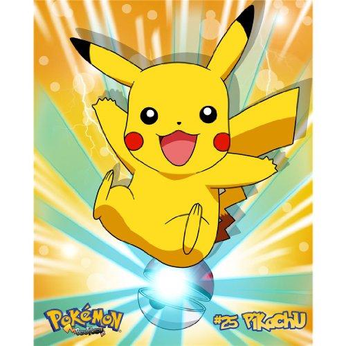 Pikachu-Poster-On-Silk-60cm-x-74cm-24inch-x-30inch-Cartel-de-Seda-6C2C09