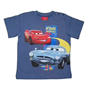 Disney - Camiseta de manga corta con cuello redondo para bebé