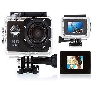 CCbetter ® Sports Action Camera CS710 12mp 1080p 120 Degree Waterproof Diving Video DVR (Black)