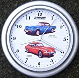 Classic Car Wall Clock Triumph Spitfire, Mk4, GT6 Mk2, Car