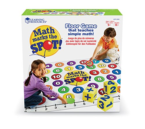 learning-resources-maths-marks-the-spot-juego-educativo-sobre-matematicas