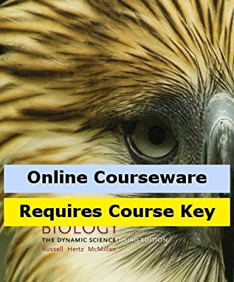 MindTap Biology Online Courseware to Accompany Russell/Hertz/McMillan's Biology: The Dynamic Science, 3rd Edition, [Instant Access], 2 terms (12 months)