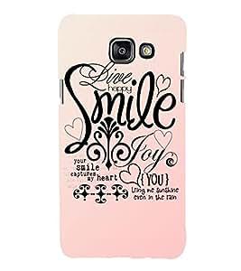 EPICCASE smile joy happy Mobile Back Case Cover For Samsung Galaxy A5 (2016) (Designer Case)