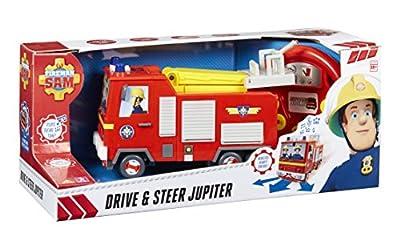 Feuerwehrmann Sam Drive and Steer ferngesteuerter Jupiter Feuerwehrauto version anglaise