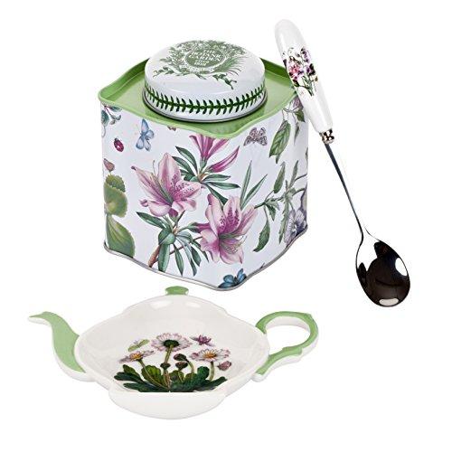 Portmeirion Botanic Garden 3-Piece Tea Accessory Set