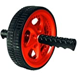 Valeo VA2413RE Dual Ab Wheel - Black/Red