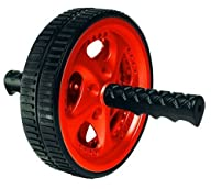 Valeo VA2413RE Dual Ab Wheel – Black/Red