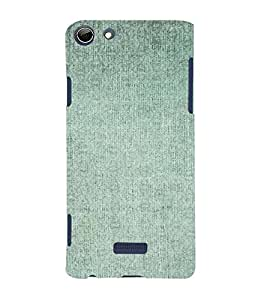 PrintVisa Faded Green Pattern 3D Hard Polycarbonate Designer Back Case Cover for Micromax CanvasSelfie3Q348