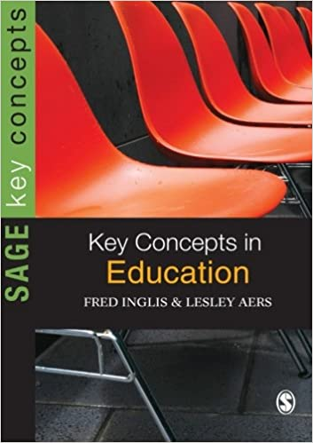 Book cover: key concepts in education