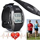 Fitness Pulse Heart Rate Monitor Calorie Counter Sports Running Watch Exercise