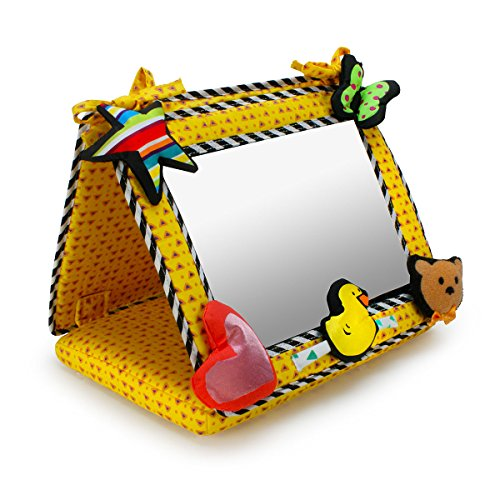 Smile, Baby! 2-in-1 Crib & Floor Mirror