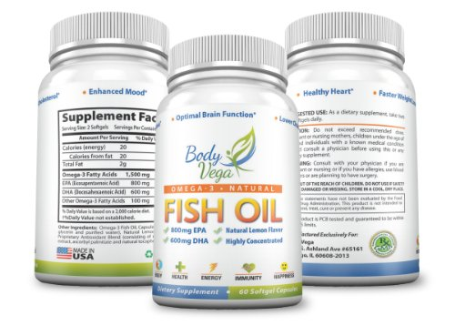 4 9 5 stars omega 3 fish oil high epa dha omega 3 for Best fish oil to reduce inflammation