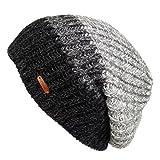 Search : LETHMIK Unique Slouchy Beanie Unisex Mix Knit Skully Hat Ski Cap in 3 Colors