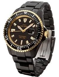 DETOMASO Gents Watch Automatic San RemoBlack Gold DT-SG5080R09A-BG