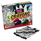 Wax Crayons Grafix Pack of 45