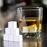 Ceramic Whisky Stones Ice Cube Glacier Whiskey Chilling Rocks