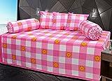 Hargunz Diwan-e-khas Cotton 6 Piece Diwan Set - Pink (dwn-pes-org)