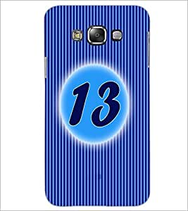 PrintDhaba Numerology Number 13 D-2569 Back Case Cover for SAMSUNG GALAXY GRAND 3 (Multi-Coloured)