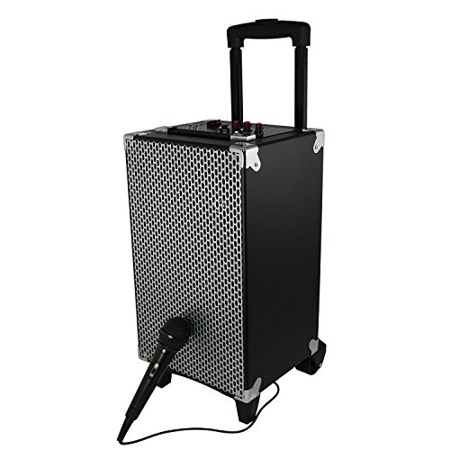 Click to buy SoundLogic XT@reg; Rechargeable Wireless Bluetooth, USB, SD Card, & FM Radio Portable Tailgater Speaker System with Handle - From only $96.39