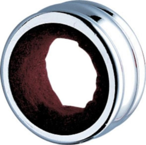 GHIDINI CIPRIANO 1379100 Collier anti-goutte pour bouteille de vin Chromé