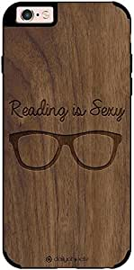 DailyObjects Reading is Sexy Real Wood Maple Case For iPhone 6s Plus