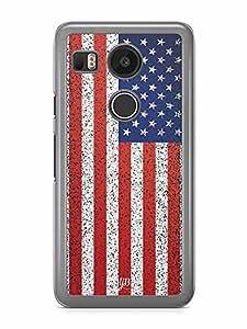 YuBingo America Designer Mobile Case Back Cover for Google Nexus 5X